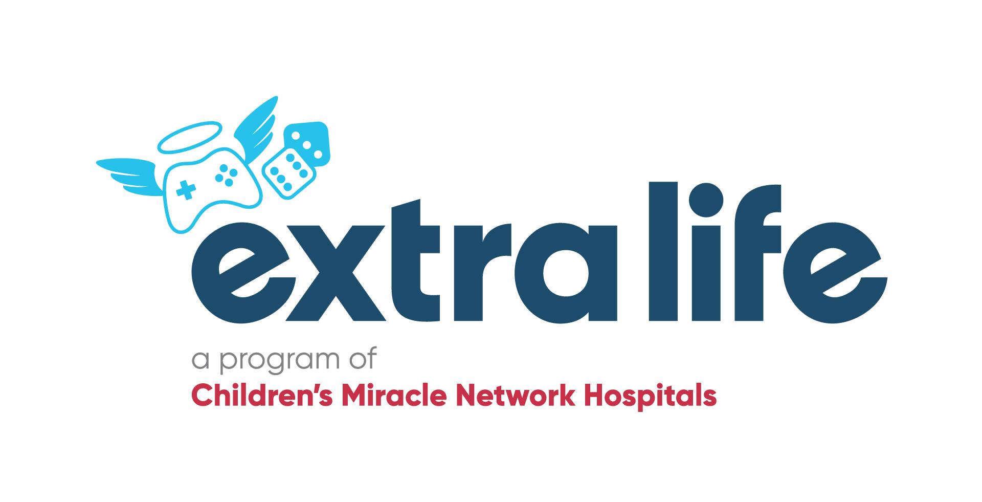 Logo for Extra Life fundraising